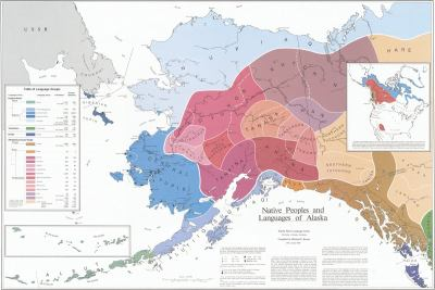 Native Peoples and Languages of Alaska: Map 9780933769007