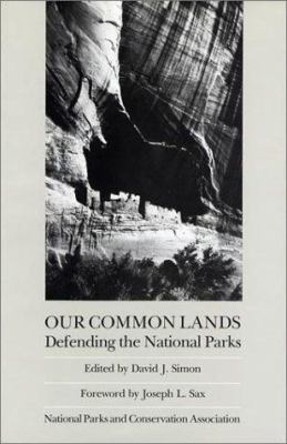 Our Common Lands: Defending the National Parks 9780933280588