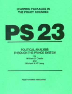 PS 23 - Political Analysis Through the Prince System 9780936826189