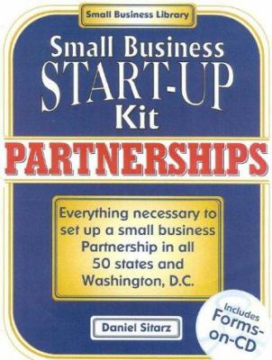 Partnerships: Small Business Start-Up Kit [With CDROM] 9780935755756