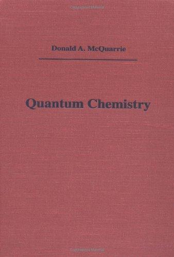 Quantum Chemistry 9780935702132