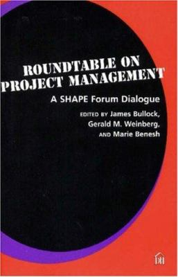 Roundtable on Project Management: A Shape Forum Dialogue 9780932633484