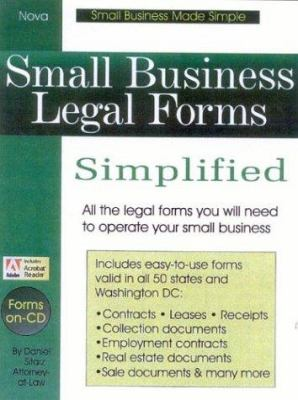Small Business Legal Forms Simplified 9780935755985