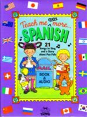 Spanish [With Book and Poster] 9780934633673