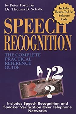 Speech Recognition 9780936648392