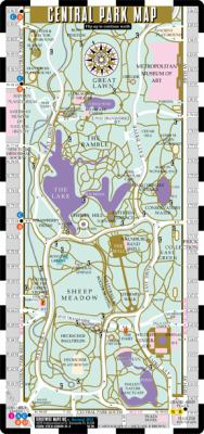 Streetwise Central Park Map - Laminated Pocket Map of Central Park, New York: Folding Pocket & Wallet Size Map for Travel 9780935039313