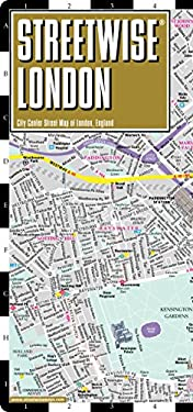 Streetwise London Map - Laminated City Street Map of London, England: Folding Pocket Size Travel Map