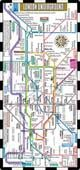 Streetwise London Underground Map - The Tube - Laminated London Metro Map  by Streetwise Maps, 9780935039337