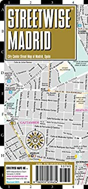 Streetwise Madrid Map - Laminated City Street Map of Madrid, Spain: Folding Pocket Size Travel Map 9780935039634