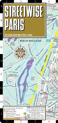 Streetwise Paris Map - Laminated City Street Map of Paris, France: Folding Pocket Size Travel Map