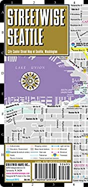Streetwise Seattle Map - Laminated City Street Map of Seattle, Washington: Folding Pocket Size Travel Map 9780935039559