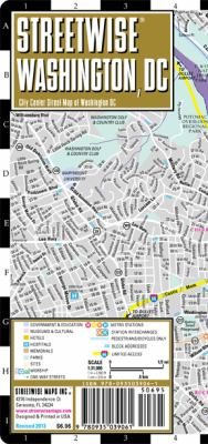 Streetwise Washington, DC Map - Laminated City Street Map of Washington, DC: Folding Pocket Size Travel Map 9780935039061