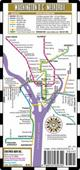 Streetwise Washington DC Metro Map - Laminated Washington DC Public Metro Map - Minimetro  by Streetwise Maps, 9780935039344