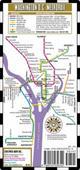 Streetwise Washington DC Metro Map - Laminated Washington DC Public Metro Map - Minimetro  by Streetwise Maps, 9780935039344