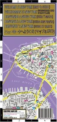 Streetwise Welcome to New York Map - Laminated City Street Map of New York City: Folding Pocket Size Travel Map