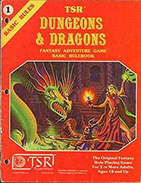 TSR Dungeons & Dragons Fantasy Adventure Game: Basic Rulebook #1