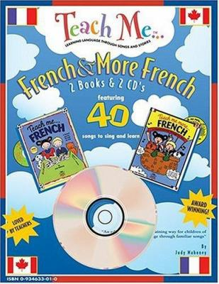 Teach Me French & More French 2-Pack 9780934633017
