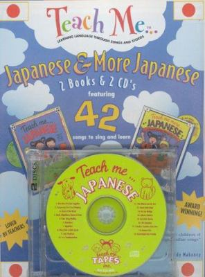 Teach Me Japanese & More Japanese 2-Pack [With 2 Books and 2 CD's (Audio)] 9780934633161