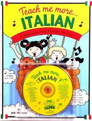 Teach Me More Italian [With 20-Page Book] 9780934633611