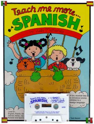 Teach Me More Spanish [With 20-Page] 9780934633147
