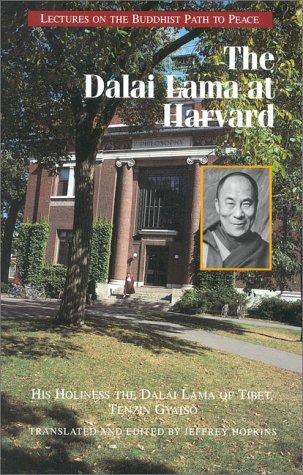 The Dalai Lama at Harvard 9780937938713