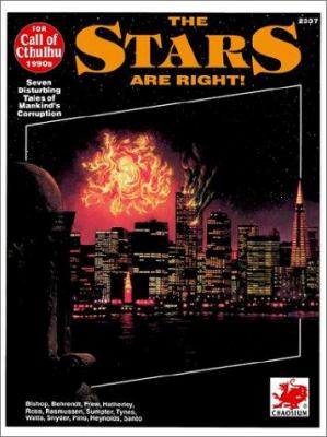 The Stars Are Right!: Seven Modern Horrors 9780933635883
