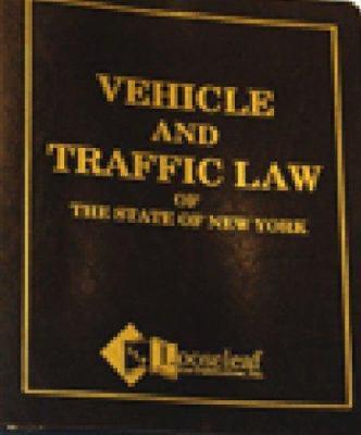 Vehicle & Traffic Law 9780930137052