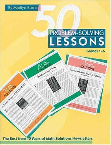 50 Proble-Solving Lessons: Grades 1-6 9780941355162