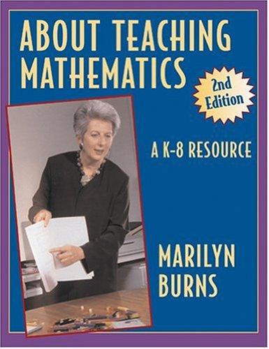 About Teaching Mathematics 036068 9780941355254