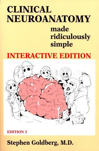 Clinical Neuroanatomy Made Ridiculously Simple 9780940780576