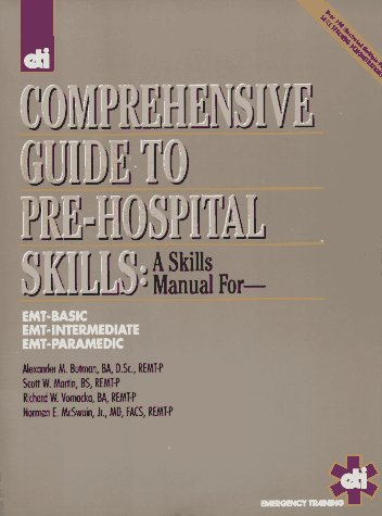 Comprehensive Guide to Prehospital Skills 9780940432093
