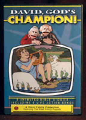 David, God's Champion! DVD: Bible Stories for Children 9780943593074