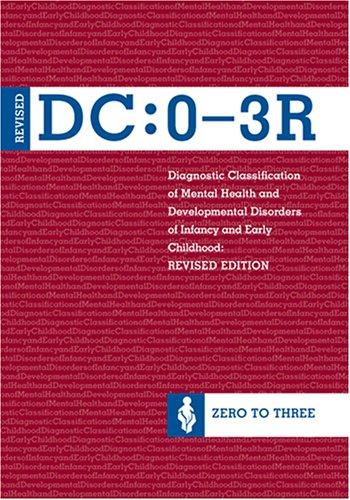 Diagnostic Classification of Mental Health and Developmental Disorders of Infancy and Early Childhood, (DC