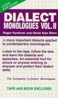 Dialect Monologues 9780940669277