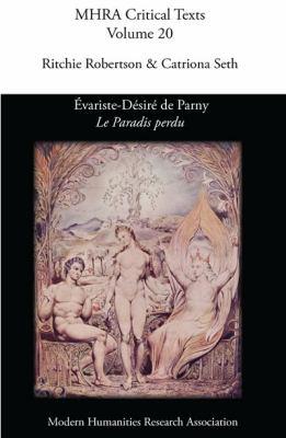 Evariste-D Sir de Parny, 'le Paradis Perdu' 9780947623906