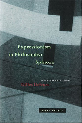 Expressionism in Philosophy: Spinoza 9780942299519