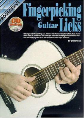 Fingerpicking Guitar Licks Bk/CD 9780947183707
