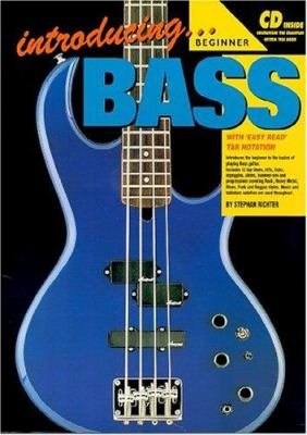 Introducing Bass Bk/CD: With 'Easy Read' Tab Notation 9780947183882