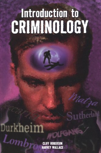 Introduction to Criminology 9780942728828