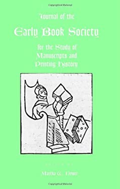 Journal of the Early Book Society Vol 8 9780944473733