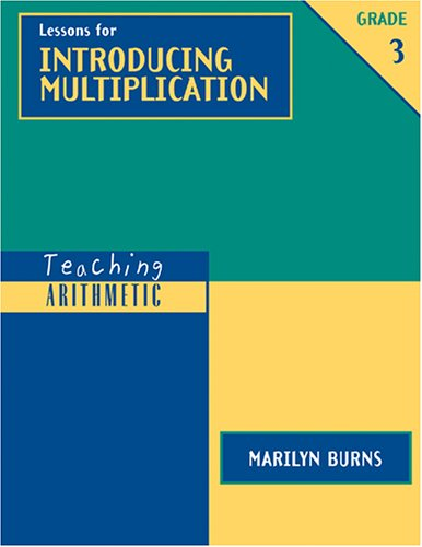 Lessons for Introducing Multiplication 9780941355414