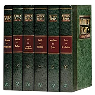 Matthew Henry's Commentary on the Whole Bible 9780943575513
