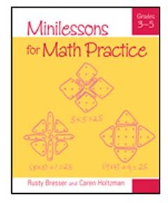 Minilessons for Math Practice: Grades 3-5 9780941355759