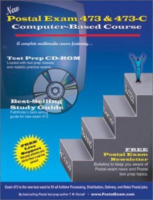 New Postal Exam 473 & 473-C Computer-Based Course [With CD-ROM] 9780940182288