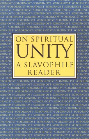 On Spiritual Unity 9780940262911