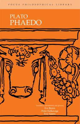 Plato's Phaedo 9780941051699