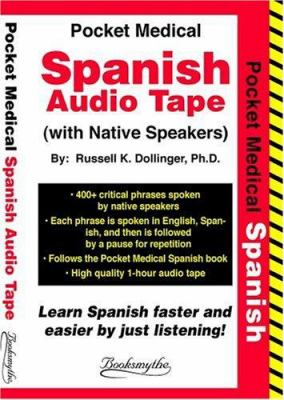 Pocket Med Spanish Audio Tape 9780945585084