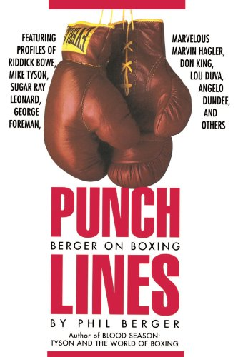 Punch Lines: Berger on Boxing 9780941423953