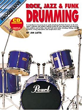 Rock Jazz Funk Drumming Bk/CD 9780947183189