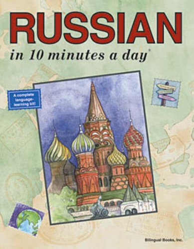 Russian in 10 Minutes a Day 9780944502471
